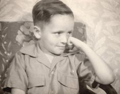 Portrait of a killer: Charles Manson, age five, in a never before seen picture taken just before his first day at elementary school. His dimpled cheeks and shy smile conceal the true nature that lurked within