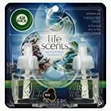 Air Wick 191566002703 Oil Twin Refill Life Scents Turquoise Oasis (Driftwood/Sea Spray/Warm Breeze) oz (Pack of - Driftwood 4 Us Air Care, Oil Warmer, Sea Spray, Scented Oils, Home Scents, Blended Coffee, Natural Essential Oils, Air Purifier, Air Freshener