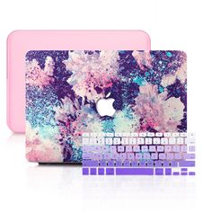 Macbook Pro 13, Macbook Keyboard Cover, Macbook Pro Touch Bar, Macbook Laptop, Macbook Sleeve, Macbook Decal, Abstract Watercolor, Watercolor Flowers, Abstract Oil