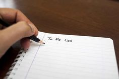 Have a daily plan.   23 Ingenious Ways To Work Smarter, Not Harder