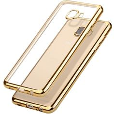 For Samsung A5 2015 2016 2017 Soft TPU Back Cover Clear Transparent J7 CasePhone