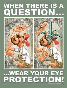 Motivational workplace safety poster. #lawofficesofjamesscottfarrin
