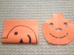 Dr. Jean's Pumpkin House Paper Cut Story
