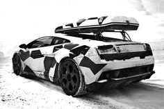 Winter Lamborghini Gallardo