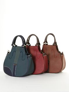 String-instrument styled handbags!!!  Charmed, yasahime: lecafeshop: axes femme approve