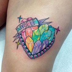amazing self-love tattoo by Roberto Euán