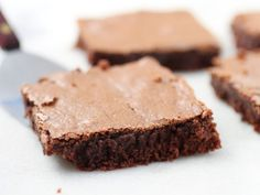 Gluten-Free Sorghum Brownies-rotating your grains is best. I'd leave out xantham gum and use coconut oil instead of vegetable oil. Grassfed butter is also fine.