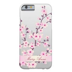 Floral Cherry Blossoms iPhone 6, Slim iPhone 6 Case.  $43.95  See slim iphone 6 cases you will love http://www.zazzle.com/cuteiphone6cases/slim+iphone+6+cases?dp=252325260711535220&ps=120&rf=238478323816001889&tc=pinslimiphone6cases&pg=2
