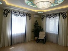 curtain designs for living room living room curtains modern curtain designs window curtains designs Cool Curtains, Modern Curtains, Valance Curtains, Latest Curtain Designs, Window Curtain Designs, Living Room Modern, Living Room Designs, Living Rooms, Pop Design For Hall