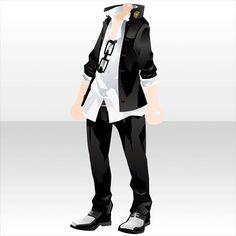 喧嘩最強伝説 ガチャ@セルフィ「ギャンクロ~ギャング クロニクル~」登場! Manga Clothes, Drawing Anime Clothes, Dress Drawing, Anime Outfits, Boy Outfits, Cute Outfits, Fashion Outfits, Anime Boy Hair, Anime Dress