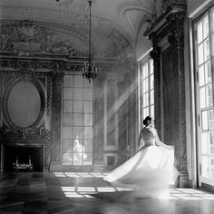 "Rodney Smith's ""Bernadette Twirling,"" Burden Mansion, NY."