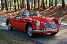 Bid for the chance to own a 1958 MG MGA at auction with Bring a Trailer, the home of the best vintage and classic cars online. Classic Cars British, British Sports Cars, Old Classic Cars, Classic Cars Online, British Car, Timeless Classic, Mg Cars, Cars Auto, Pedal Cars