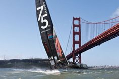 It's going to be a Nautical weekend in SF.  America's Cup SF October 2012