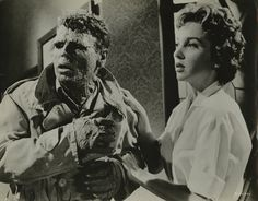 Beverly Garland with Richard Crane in The Alligator People