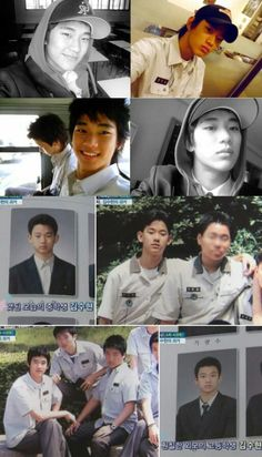 Pictures of Kim Soo Hyun before debuted. #김수현