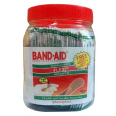 Johnson & Johnson Band Aid Washproof 200Pcs 200 Pcs Buy Online at lowest price in India: BigChemist.com
