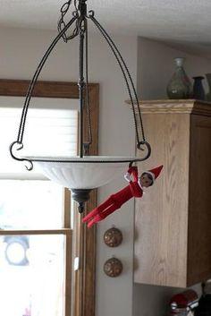 Elf on the Shelf Ideas. by Valerib