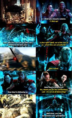 Thor: The Dark World. I laughed so much XD