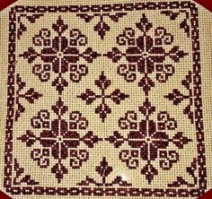 Embroidery Patterns, Cross Stitch Patterns, Cross Stitch Rose, Alphabet, Folk, Cushions, Sewing, Fabric, Cross Stitch Embroidery