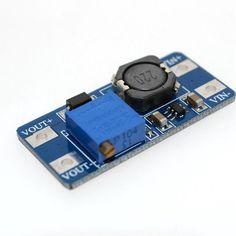 MT3608 2a ماكس dc تصعيد حدة الطاقة الداعم وحدة الطاقة 3-5 فولت إلى 5 فولت/9 فولت/12 فولت/24 فولت