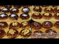 YouTube Shortbread, Christmas Cookies, Food Videos, Cheesecake, Muffin, Dishes, Cooking, Breakfast, Desserts