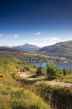 Looking to go hiking in Scotland along the West Highland Way walking trail? Hillwalk Tours has itineraries to suit all abilities. Scotland Hiking, West Highland Way, Go Hiking, Scottish Highlands, Walking Tour, Glasgow, Trail, To Go, Castle