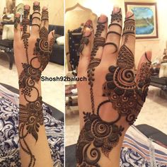 Mehandi design luv it Modern Henna Designs, Henna Art Designs, Mehndi Designs 2018, Mehndi Designs For Girls, Wedding Mehndi Designs, Mehndi Designs For Fingers, Mehandi Designs, Tattoo Designs, Khafif Mehndi Design