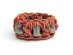 Perfectos dragones - Rope and ribbon with metallic foil