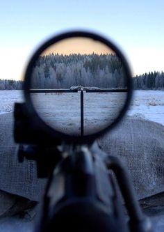 Through the scope