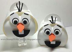 Olaf from Frozen Curly Keepsake Die