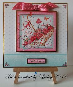 A birthday card made using Hunkydory's Love Blossoms card kit. More details can be found at http://stampingbubbles.blogspot.co.uk/2016/10/love-blossoms.html