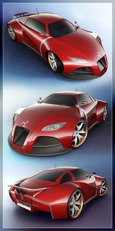 Concept Car V2   Panel by 3dnutta 75 Concept Cars Of The Future Incredible Design