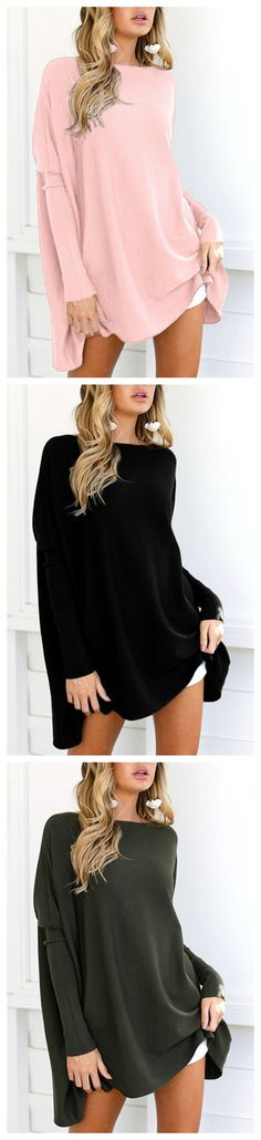 Crew Neck Long Sleeves T-shirt
