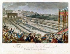 La fête de la Fédaration (14 juillet 1790)