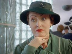 Pauline Moran stars as Miss Lemon on ITV's Poirot series for many years.