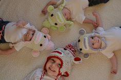 My little Monkey's in their Sock Monkey Hats