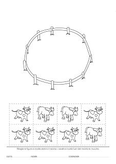 La maestra Linda : Concetti Topologici Preschool Projects, Preschool Worksheets, Activities For Kids, Lessons For Kids, Math Lessons, Alphabet Coloring Pages, Kindergarten Math, Fun Math, Kids Education