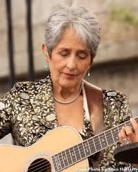 "Joan Baez - ""You don't get to choose how you are going to die or when. You can only decide how you're going to live."""