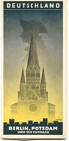 Berlin Potsdam und Die Kurmark 1932 Mark Vandeneschen