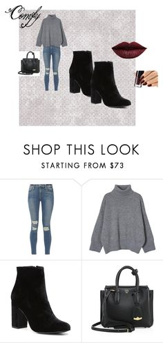 """""""comfortable"""" by dominiquebambi ❤ liked on Polyvore featuring Frame, Witchery, MCM, LASplash, cute and goingout"""