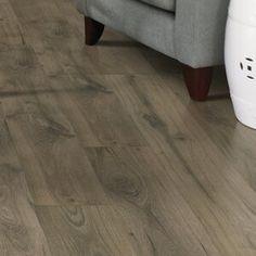 "Mohawk Windworn Hickory 3/8"" Thick x 5"" Wide x Varying Length Engineered Hardwood Flooring & Reviews | Wayfair Walnut Laminate Flooring, Laminate Flooring Colors, Engineered Hardwood Flooring, Wood Laminate, Hardwood Floors, Plywood Floors, Plywood Furniture, Kitchen Flooring, Furniture Design"