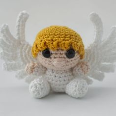 we have shared these 10 Free Crochet Angel Amigurumi Patterns that are amazingly cute and beautiful and would make the perfect ever stuffed toys Crochet Gratis, Crochet Patterns Amigurumi, Cute Crochet, Amigurumi Doll, Knitting Patterns, Christmas Crochet Patterns, Crochet Christmas Ornaments, Holiday Crochet, Crochet Snowflakes