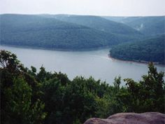 Allegheny National Forest. We will be camping here for the first time in June. 513,00 acres of forest, 600 miles of trails and a beautiful reservoir.
