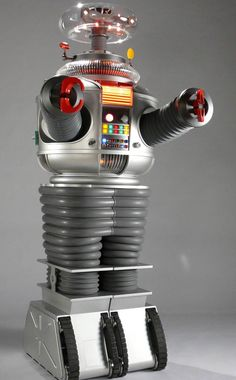 The Robot from Lost in Space - I was a real sci fi geek and even got a robot one Christmas as a presant so it didn't go in-noticed by my parents :)