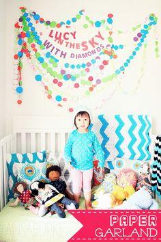 fun kiddo room decor!