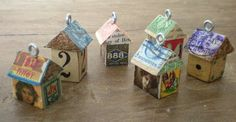 A cute craft to make out of postage stamps.