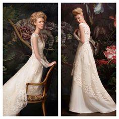 #Vintage #Style #Lace #Wedding Dress, AG for Papilio - www.facebook.com/papilioboutique