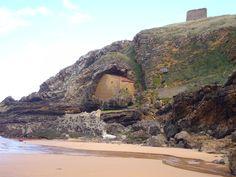 #Ubiarco: Marea baja en la Playa de Santa Justa. #Cantabria | #Spain . Turismo Rural de Cantabria