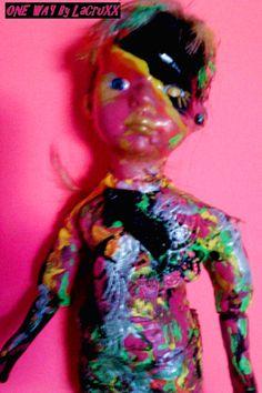 Muñeca One Way Doll por PostDollsARTuNIVERSE en Etsy, €60.00
