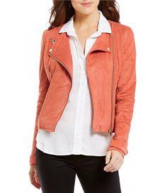 51c06fb719d Chelsea   Violet Faux-Suede Moto Jacket